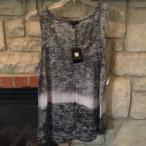 Tops - NWT Valerie Bertinelli ombré tank top